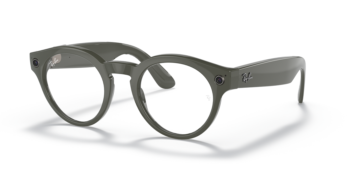 Rayban Stories - Round hover